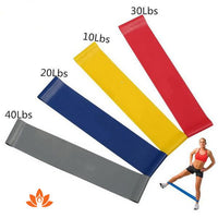 Latex Resistance Yoga Band