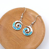 Ocean Swirl Earrings