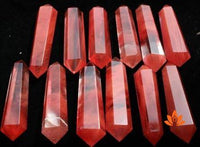 Red Quartz Crystal Points