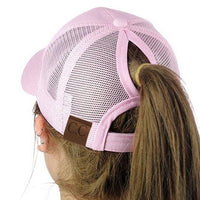 Sparkle Ponytail Hat