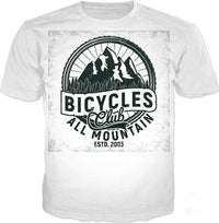 T-Shirts - All Mountain Bicycles Club