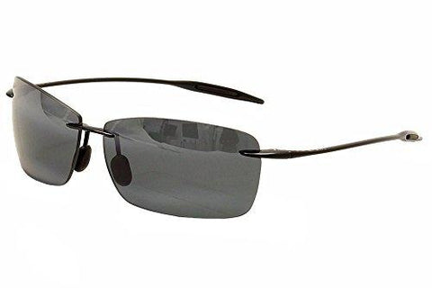 Maui Jim Lighthouse 423-02 Black Frame / Grey Lens - KartCraver