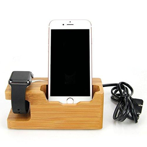 AICase Bamboo Wood USB Charging Station - KartCraver