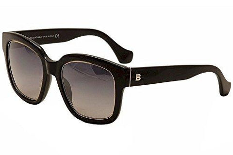 Balenciaga BA50 BA/50 01B Black Fashion Sunglasses 52mm - KartCraver