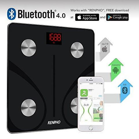 RENPHO Bluetooth Body Fat Scale with Smart App - KartCraver