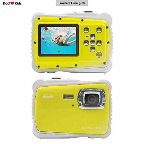Underwater Camera Kids Digital Camera IP68 - KartCraver