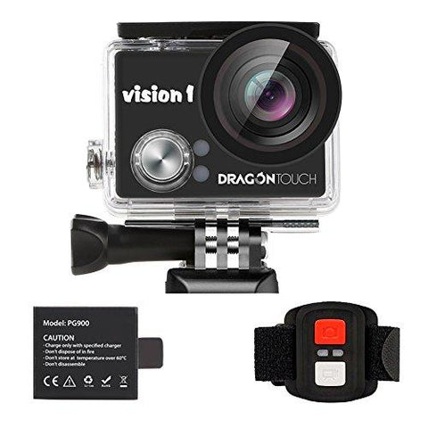 Dragon Touch Kids Action Camera 1080P Waterproof Camcorder - KartCraver