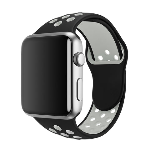 Apple iWatch Bands Replacement 38mm 42mm Soft Silicone Band - KartCraver