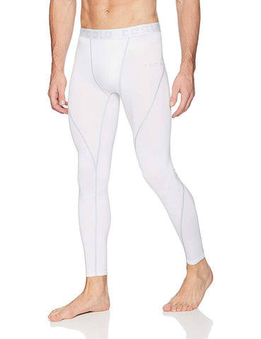 Tesla Men's Compression Pants Baselayer Coo - KartCraver
