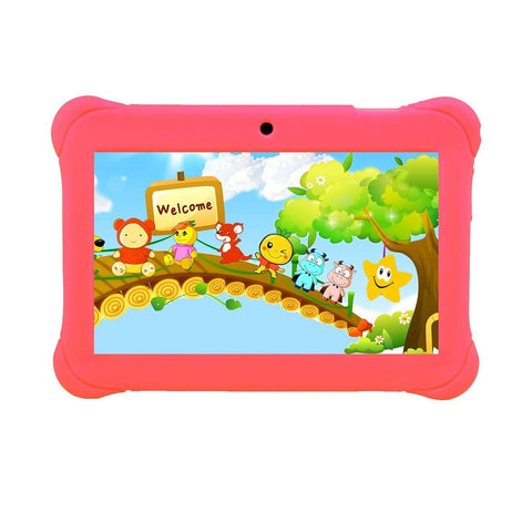 "Tagital 7"" T7K Quad Core Android Kids Tablet, with Wifi and Camera and Games - KartCraver"