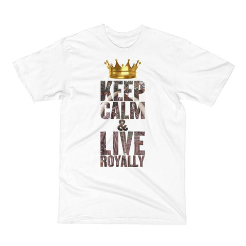"""Live Royally"" Men's Sir Olateru-Olagbegi T-Shirt - KartCraver"