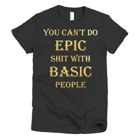 """EPIC"" Short sleeve Women's t-shirt - KartCraver"