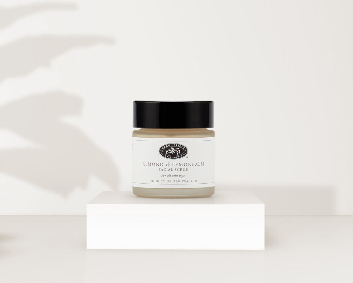 Carol Priest Almond & Lemonbalm Facial Scrub
