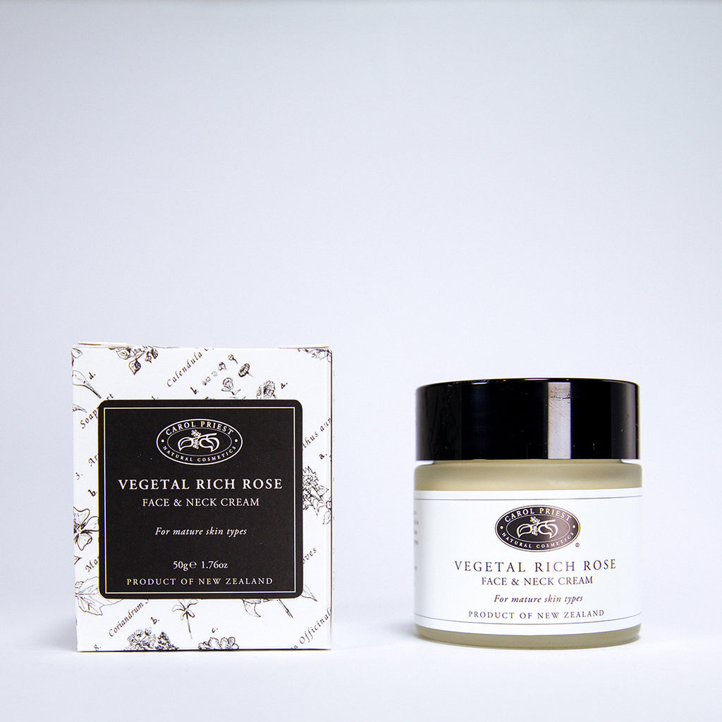 Vegetal Rich Rose Face and Neck Cream