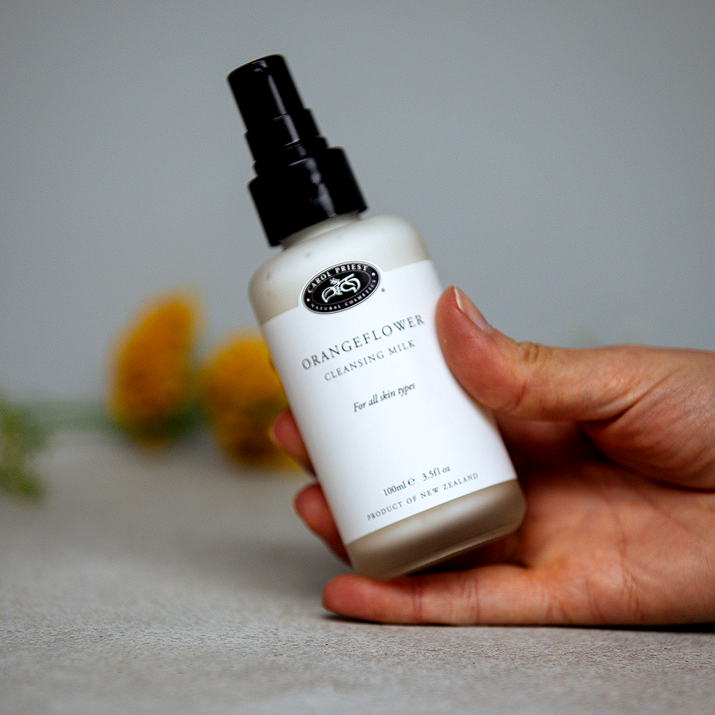 Orangeflower Cleansing Milk for all skin types