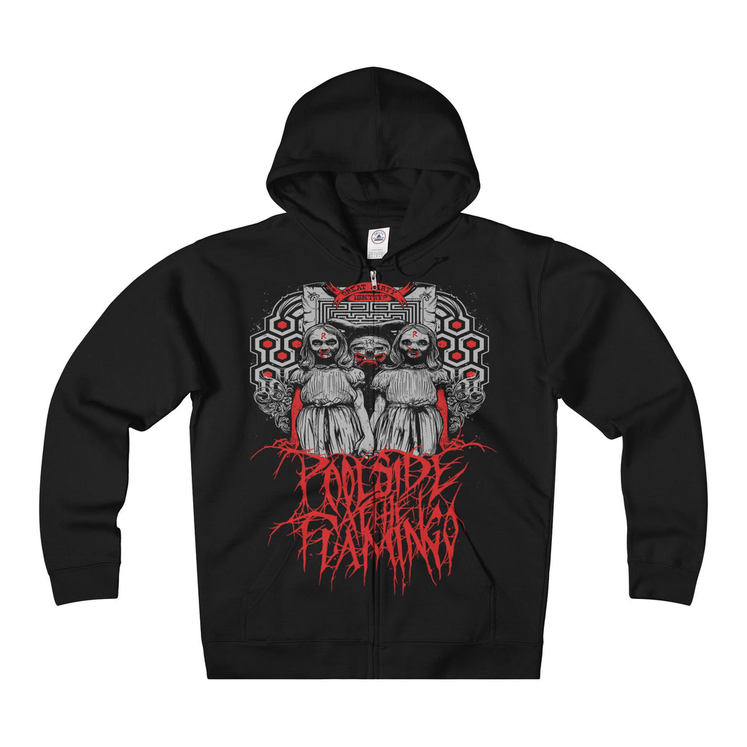 Redrum - Heavyweight Fleece Zip Hoodie