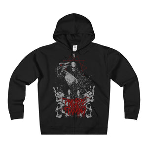 Crow - Heavyweight Fleece Zip Hoodie
