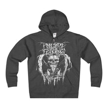 Skull - Heavyweight Fleece Zip Hoodie