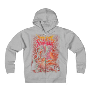 Flamingo - Heavyweight Fleece Zip Hoodie