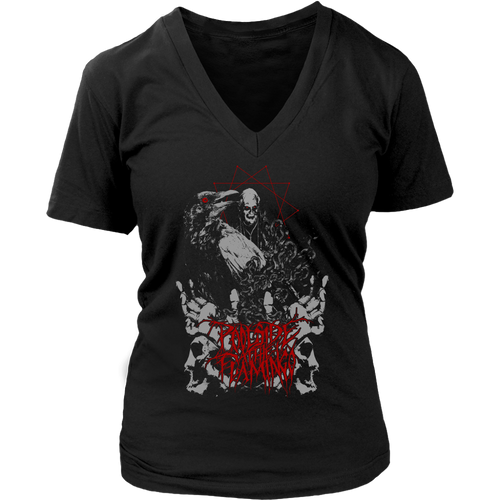 Crow - District Womens V-Neck