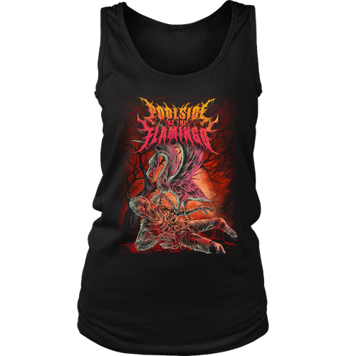 Flamingo District Womens Tank