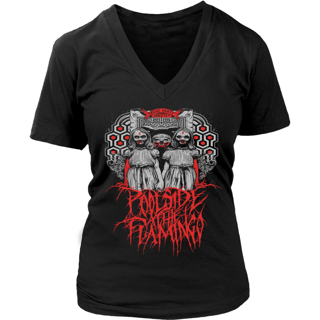 Redrum - District Womens V-Neck