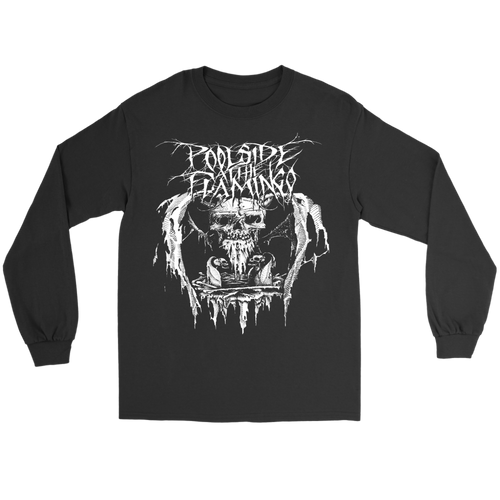 Skull - Gildan Long Sleeve Tee