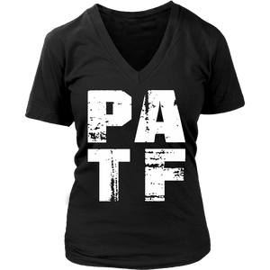PATF - District Womens V-Neck