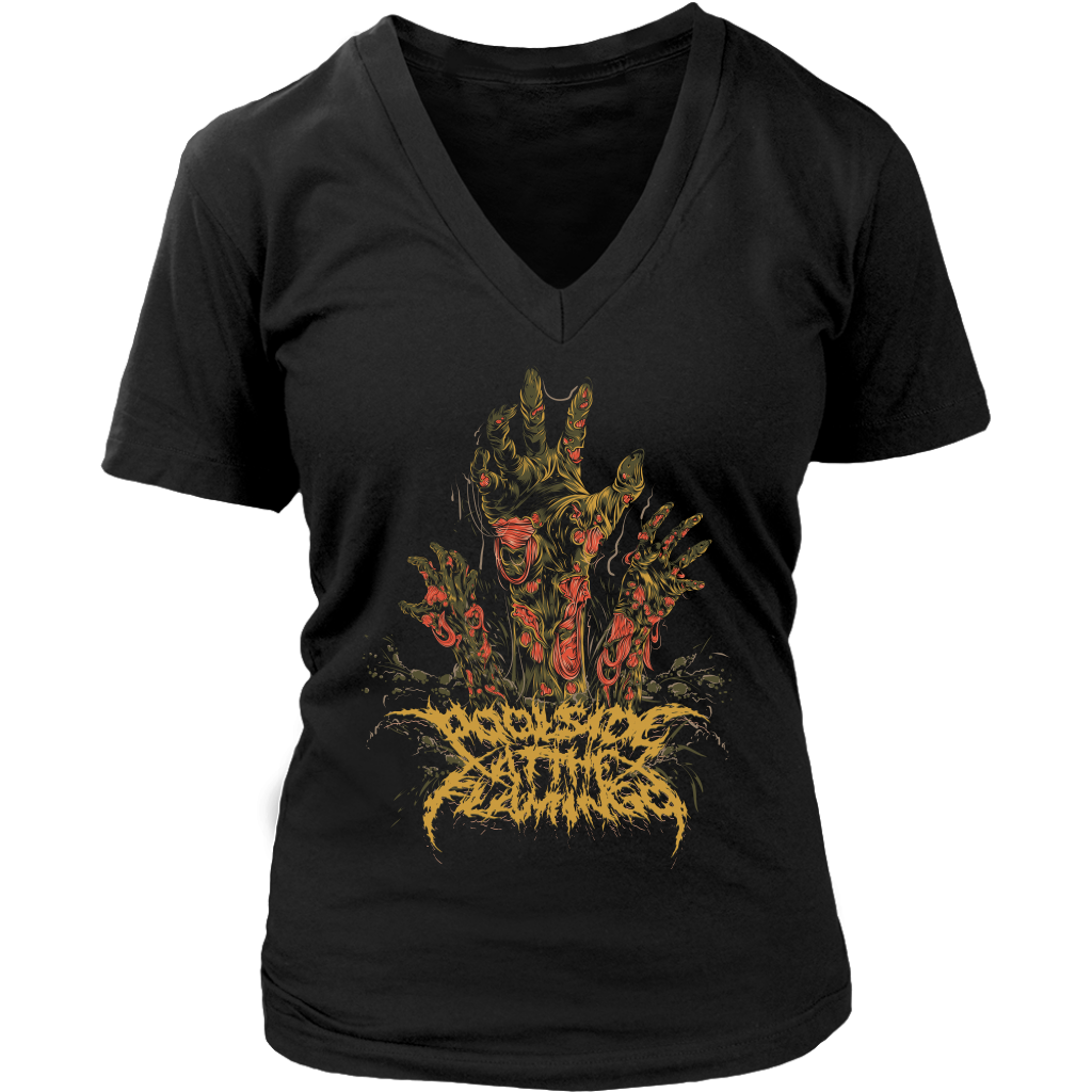 Zombies - District Womens V-Neck