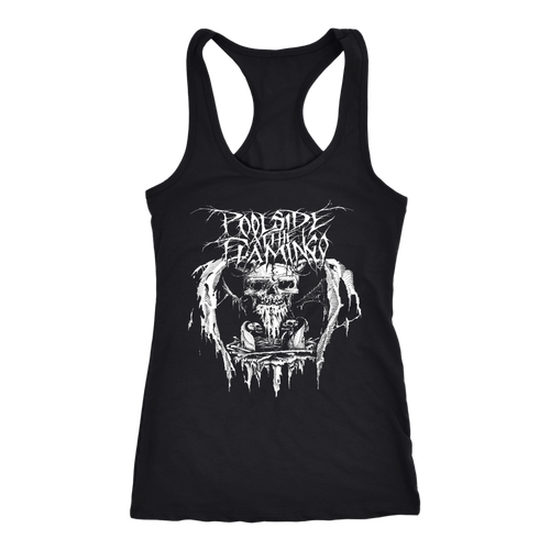 Skull - Next Level Racerback Tank