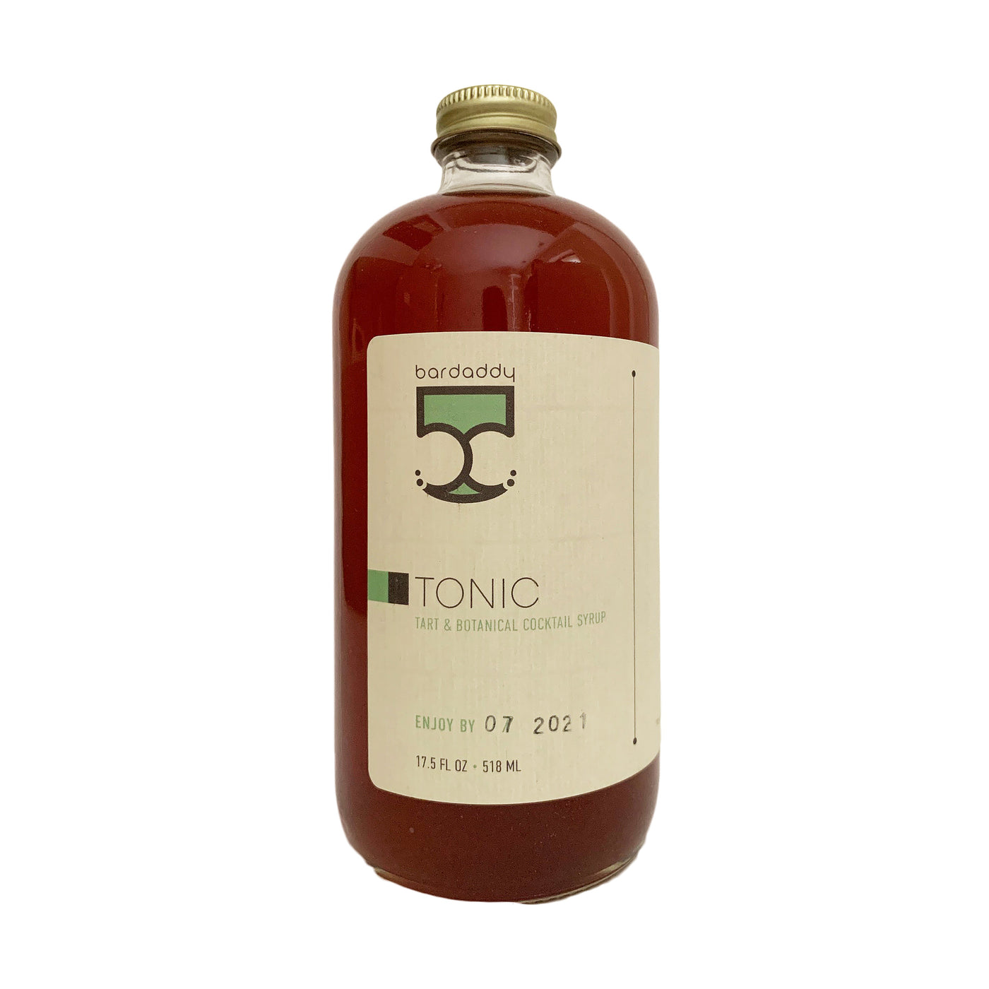 Bar Daddy Tonic Syrup 17.5 Ounces
