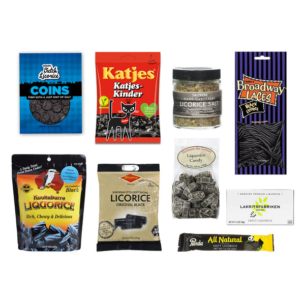 Black Licorice Variety Gift Box (9 items)