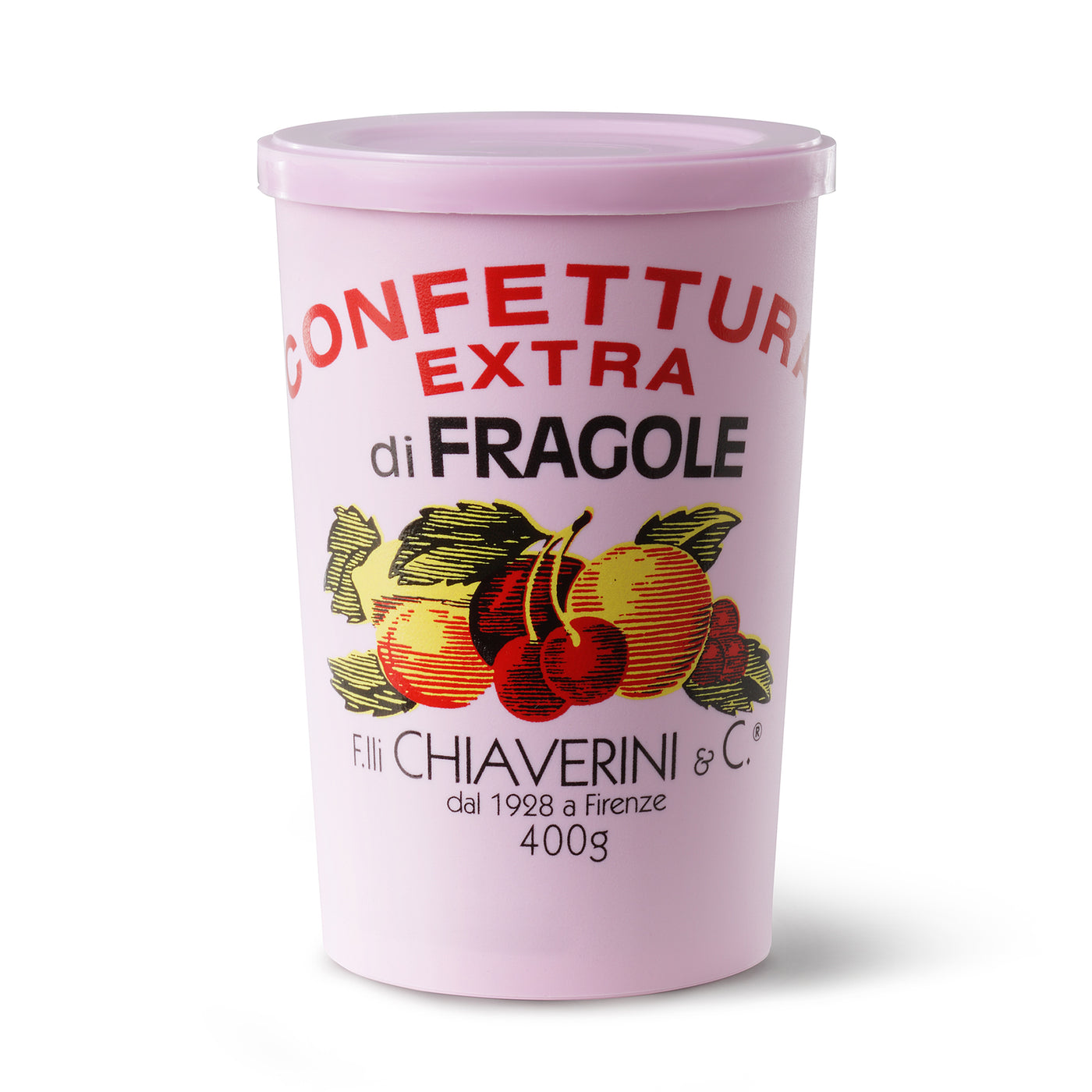 F.IIi Chiaverini & Co Confettura Extra di Fragole (Strawberry Jam) 400 Gram