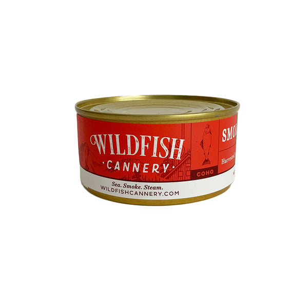Wildfish Cannery Smoked Alaskan Coho Salmon 6 Ounces