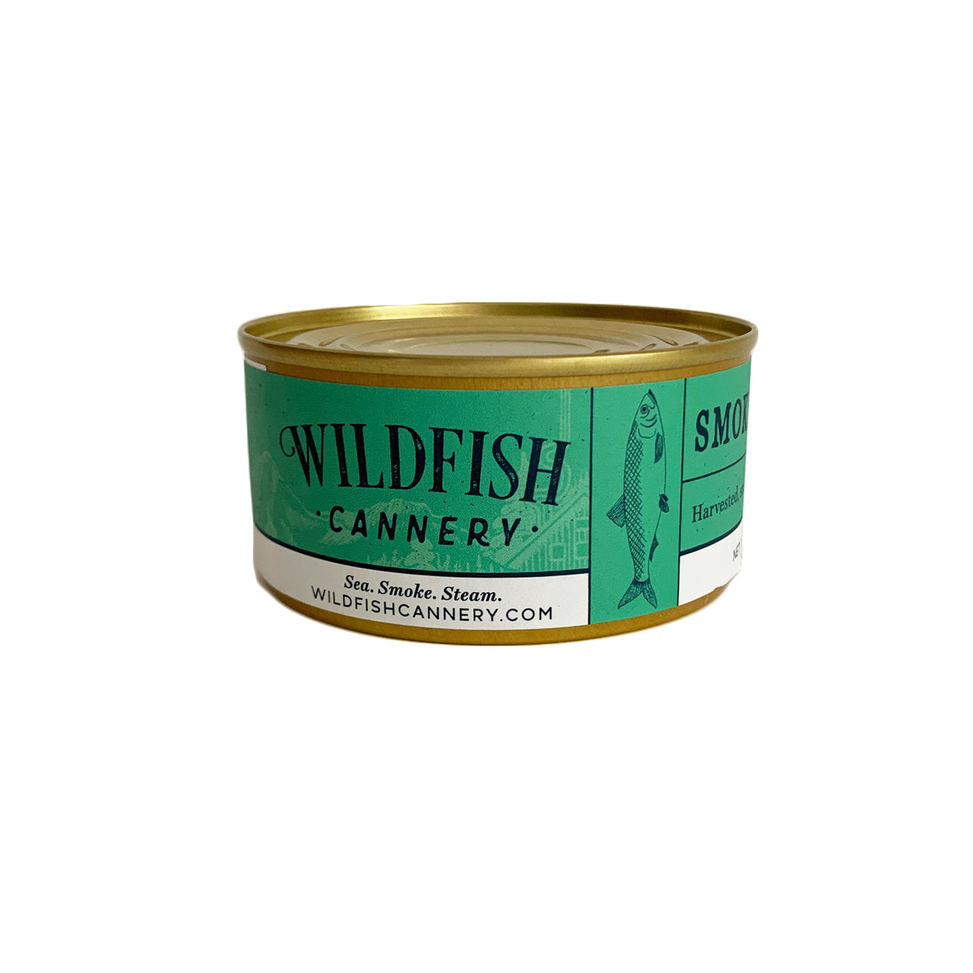 Wildfish Cannery Smoked Alaskan Herring 6 Ounces