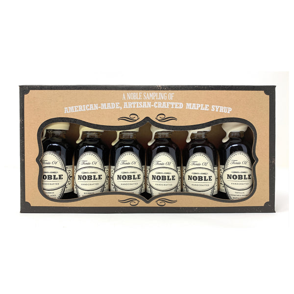 Noble Handcrafted Petite Giftpack - Includes Noble Tonic 01 and 02 (6 Petite Size  60ml Bottles)
