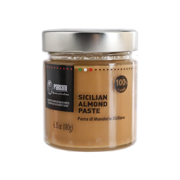 PARIANI 100% Pure Sicilian Almond Paste (Unsweetened) 180g