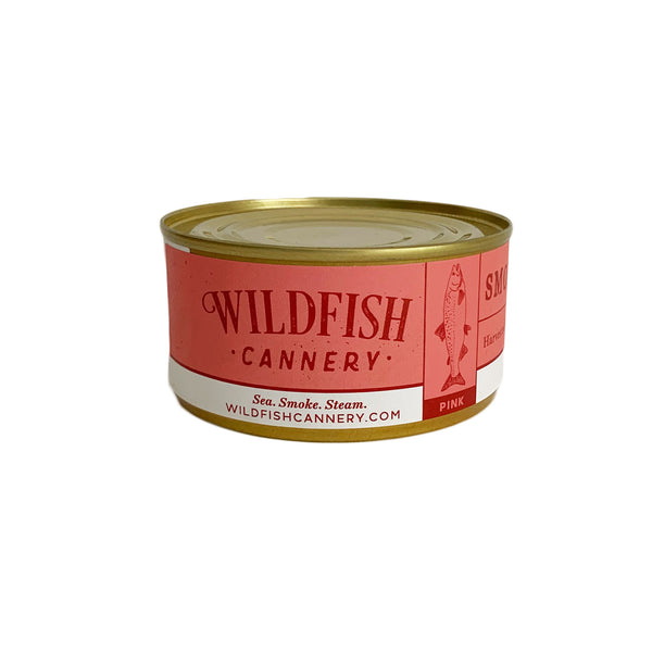 Wildfish Cannery Smoked Alaskan Pink Salmon 6 Ounces