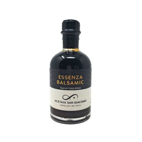 San Giacomo USDA Organic Essenza Balsamic Vinegar (Aged 8 years) 3.37 fl oz (100ml)