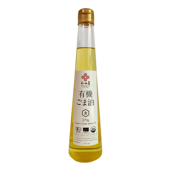 WADAMAN Organic Golden Sesame Oil 300ml