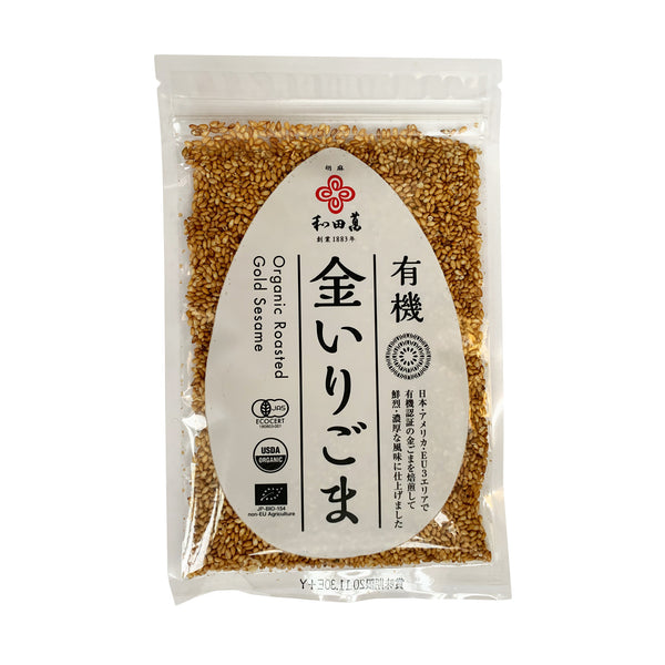 Wadaman Organic Roasted Golden Sesame Seeds 50 Grams