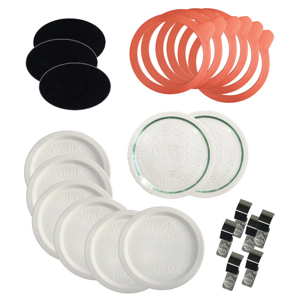WECK Replacement Kit for 100mm (Large) Weck Jars