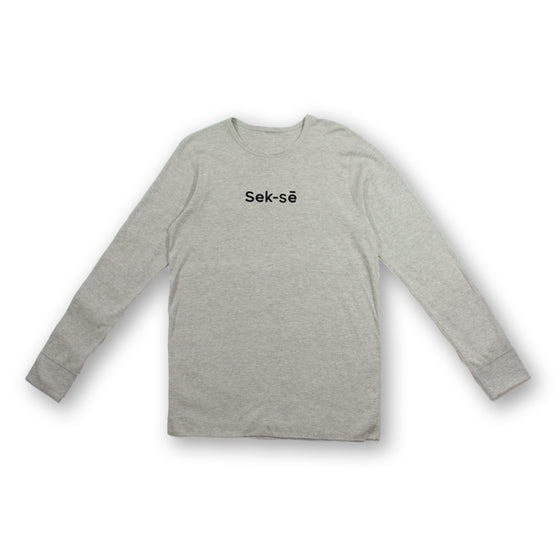 Sek-sē Black Embroidered Mid-size Logo Thermal