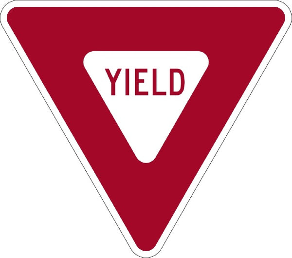 R1-2 MUTCD Yield Sign