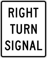 R10-10R, MUTCD RIGHT TURN SIGNAL
