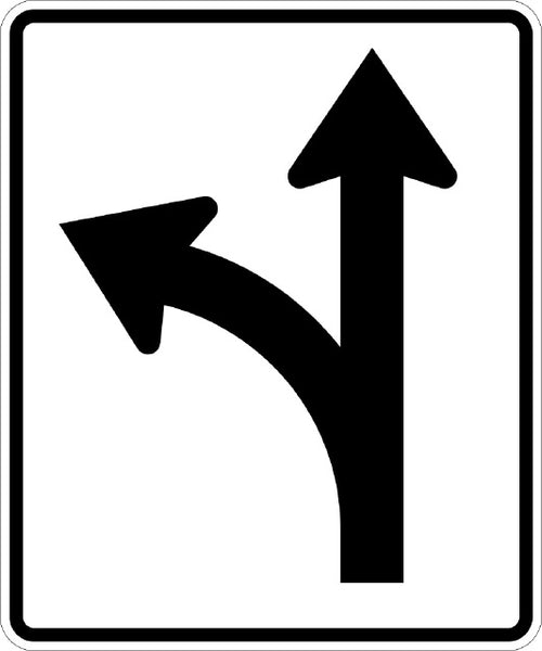 R3-6L, MUTCD OPTIONAL MOVEMENT LANE CONTROL