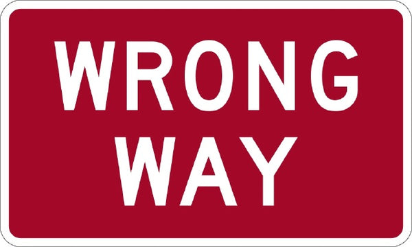 R5-1A, MUTCD Wrong Way