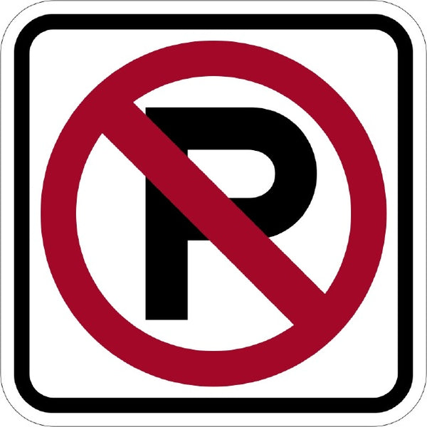 R8-3A, MUTCD NO PARKING SYMBOLIC