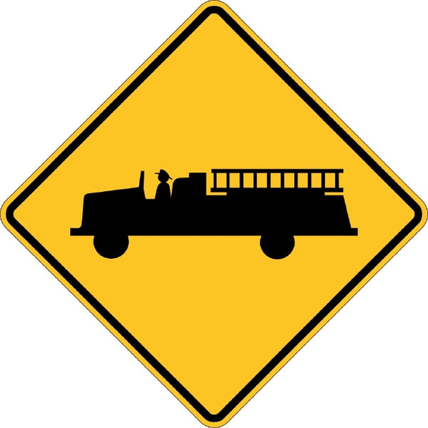 W11-8, MUTCD EMERGENCY VEHICLE