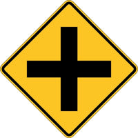W2-1, MUTCD CROSS ROADS